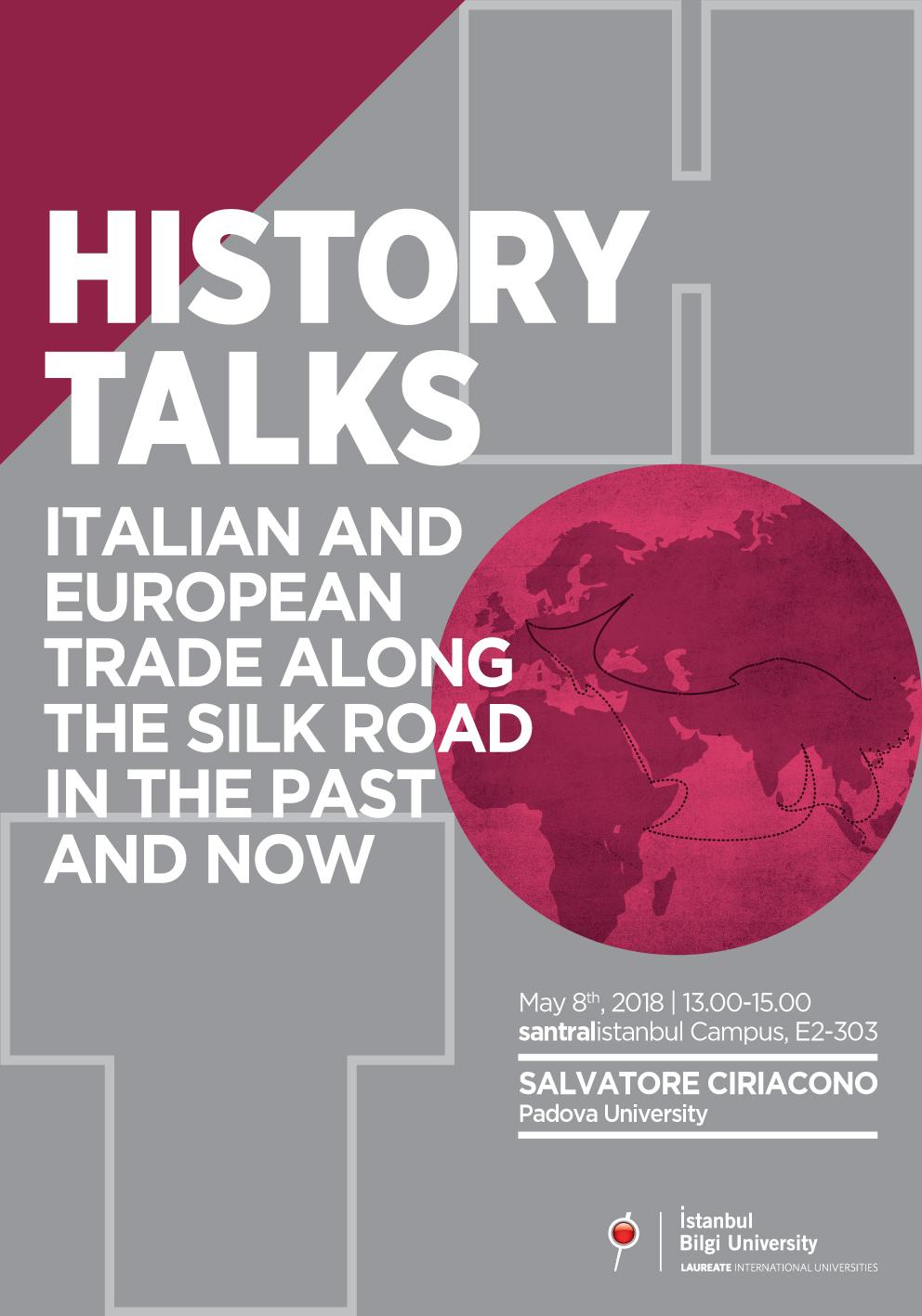 History Talks: Italian and European Trade along the Silk