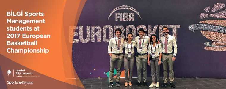 BİLGİSports students took part in the 2017 European Basketball Championship