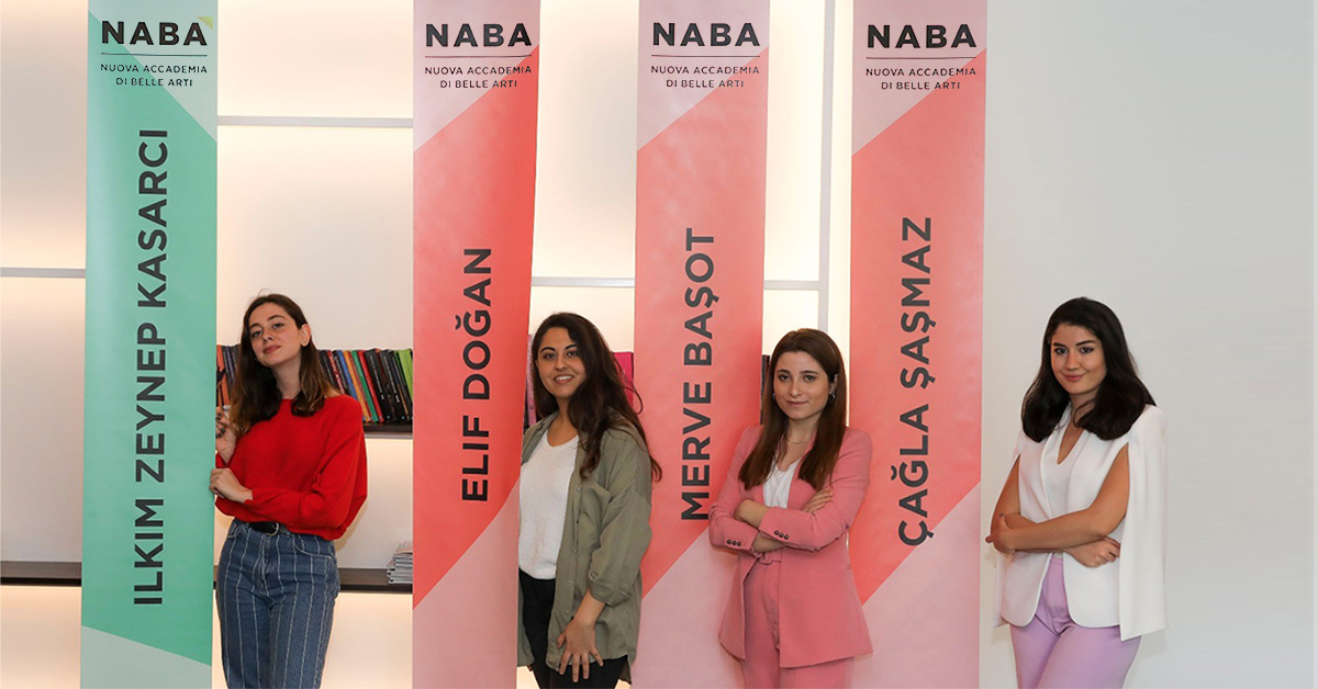 Students of Fashion Design and Interior Design Departments of BİLGİ deliver their NABA theses.