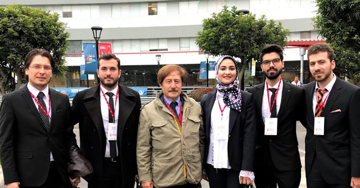 BİLGİ Robotics Team ranks second at the Laureate Award for Excellence in Robotics Engineering.