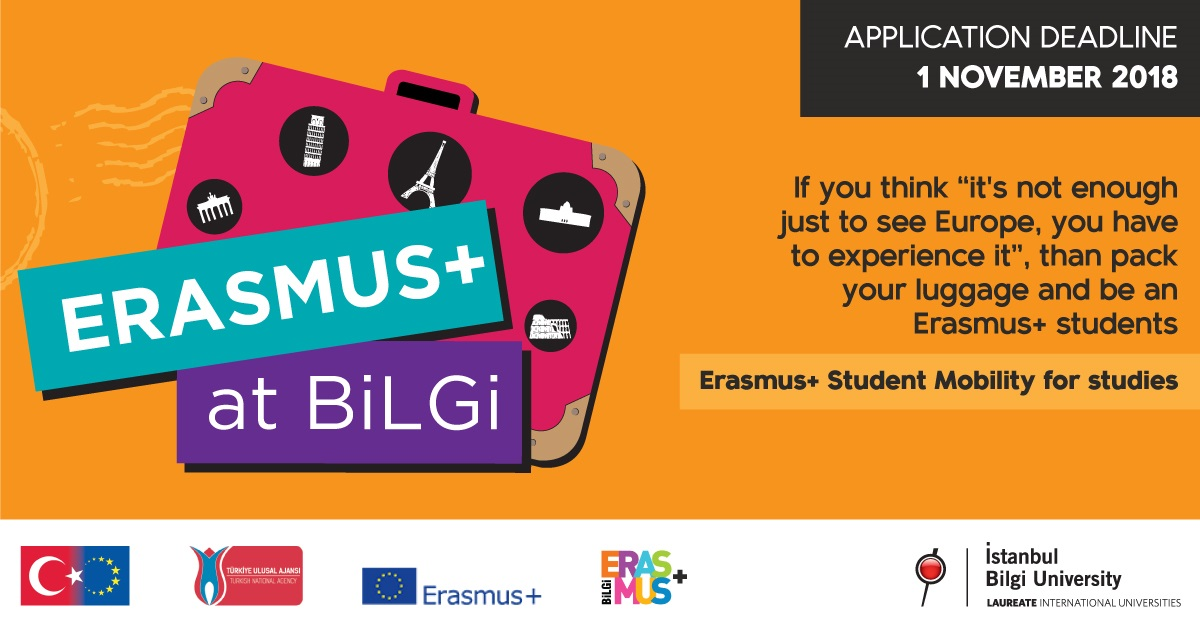 Erasmus+ Study Mobility Master Degree Applications