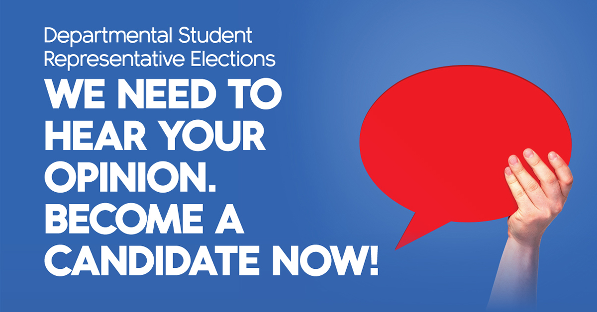 Student Council Departmental and International Student Representative Elections