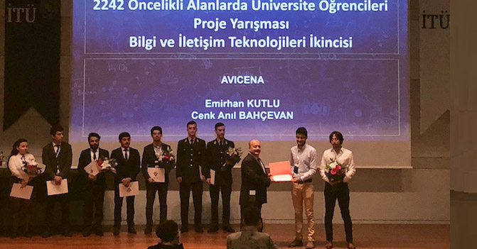 "BİLGİ ranks 2nd in İstanbul Region at TÜBİTAK's ""2242 University Students' Projects in Priority Areas Competition""."