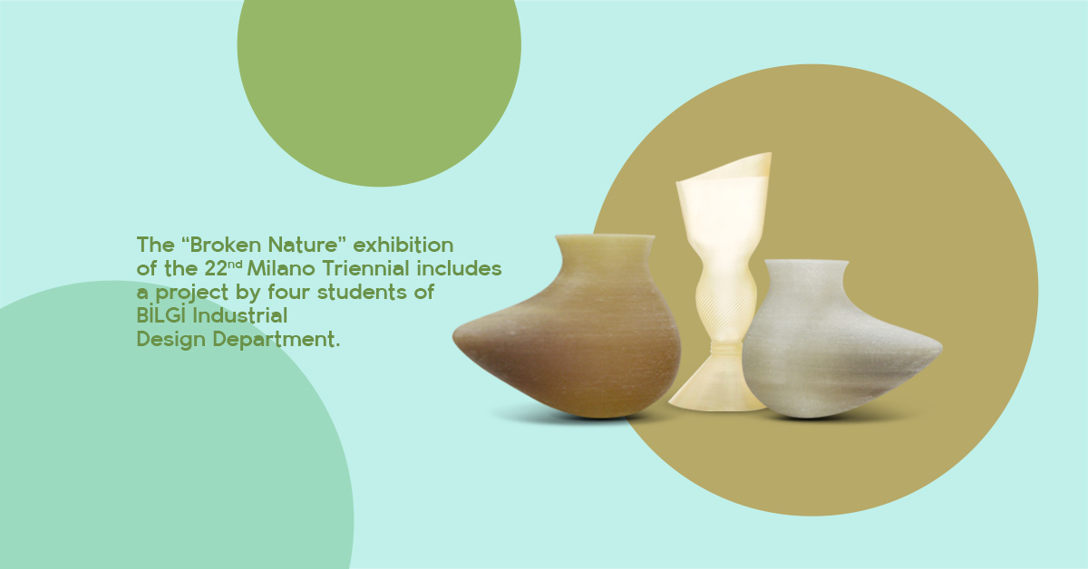 Students of BİLGİ Industrial Design at the 22nd Milano Triennial