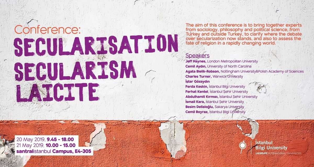 Conference: Secularisation , Secularism, Laicite