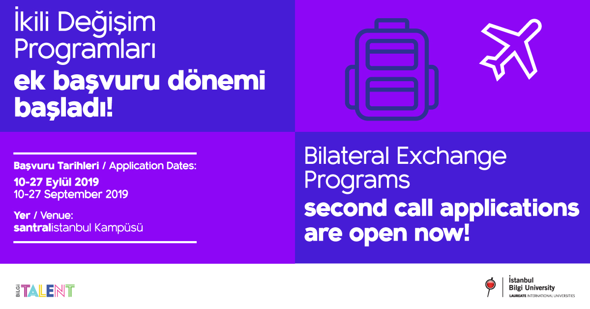 Bilateral Exchange Programs Second Call Applications
