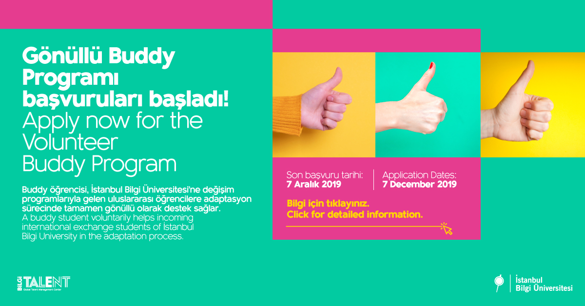 Buddy program for international students