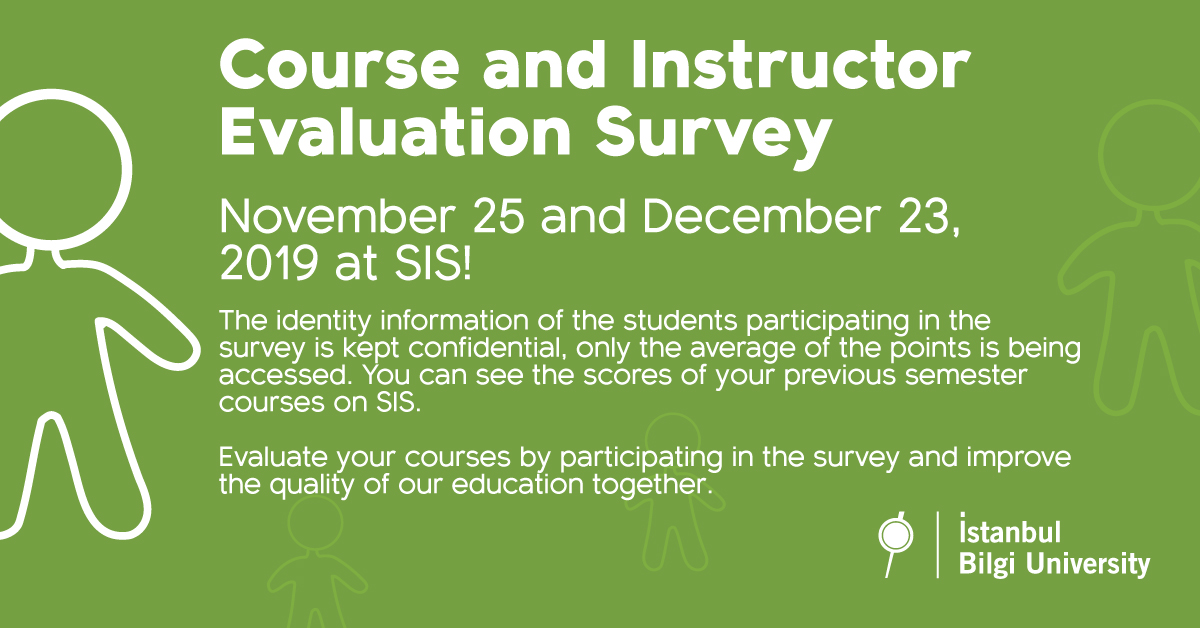 Course and Instructor Evaluation Survey