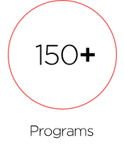 150+ programs